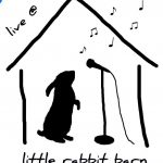 Logo for live music venue Little Rabbit Barn